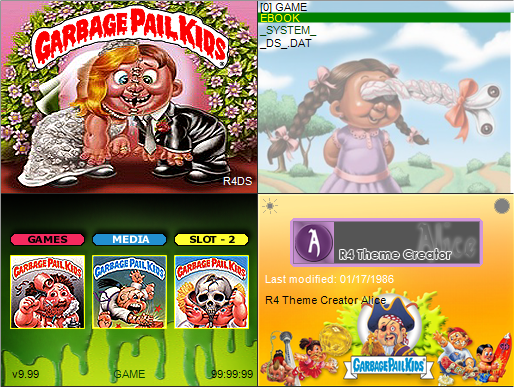 Thumbnail 1 for Garbage Pail Kids Skin